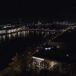 Нева ночью