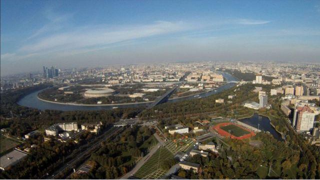 Вид москвы Дворец  пионеров