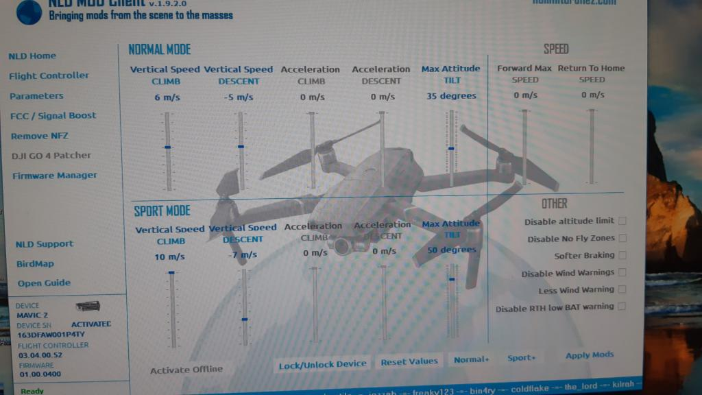Mavic 2 Pro/Zoom Снятие лётных ограничений  - Страница 6